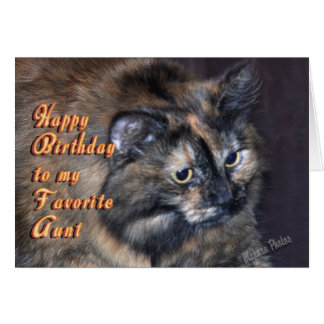 Aunt Birthday-customize Greeting Card