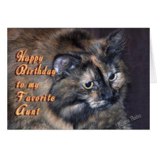 Aunt Birthday-customize Card