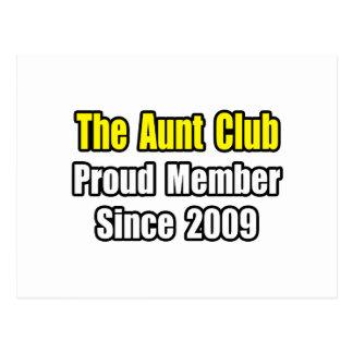 Aunt Club...Since 2009 Postcard