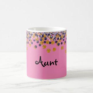 Aunt Confetti Mug