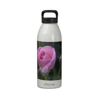 Aunt Dorothy's Pink Rose Drinking Bottle