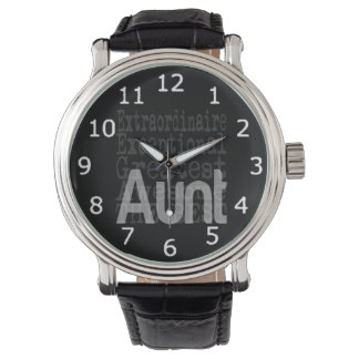 Aunt Extraordinaire Wristwatches