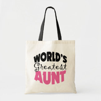 Aunt Gift Budget Tote Bag