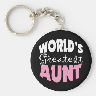 Aunt Gift Keychain