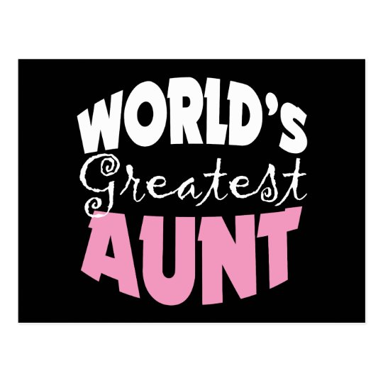 Aunt Gift Postcard