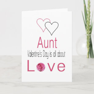 Happy Valentines Day Aunt Gifts On Zazzle