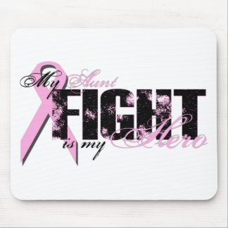 Aunt Hero - Fight Breast Cancer Mouse Pad
