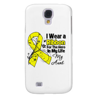 Aunt Hero in My Life Sarcoma Samsung Galaxy S4 Cases