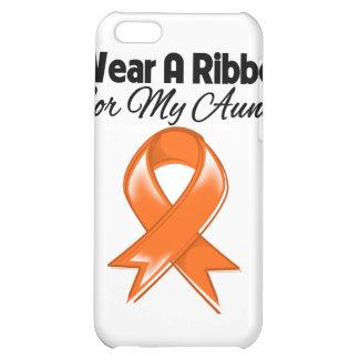 Aunt - I Wear Orange Ribbon Stylish iPhone 5C Covers
