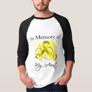Aunt - In Memory of Military Tribute T-Shirt