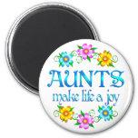 Aunt Joy Refrigerator Magnet
