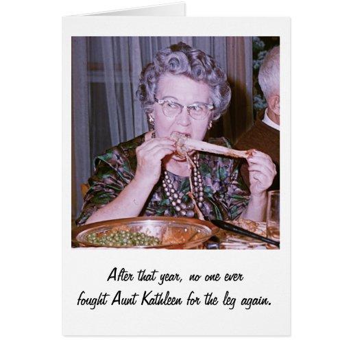 Aunt Kathleen Greeting Card