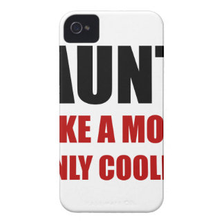 Aunt Like Mom Cooler Case-Mate iPhone 4 Case
