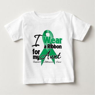 Aunt - Liver Cancer Ribbon.png Baby T-Shirt