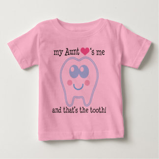 Aunt Loves Me Baby T-Shirt