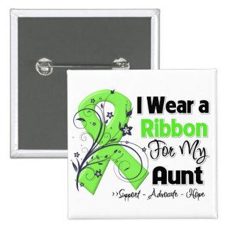 Aunt - Lymphoma Ribbon Buttons