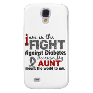 Aunt Means World To Me Diabetes Galaxy S4 Covers