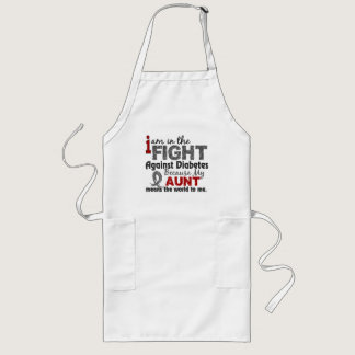 Aunt Means World To Me Diabetes Long Apron