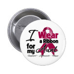 Aunt - Multiple Myeloma Ribbon Buttons