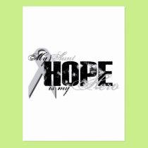 Aunt My Hero - Lung Hope Postcard