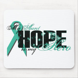 Aunt My Hero - Ovarian Hope Mouse Pad