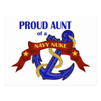 Aunt of a Navy Nuke Postcard