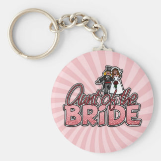 aunt of the bride keychain