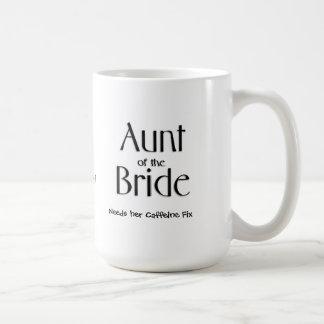 Aunt of the Bride Needs her Caffeine Fix Mug