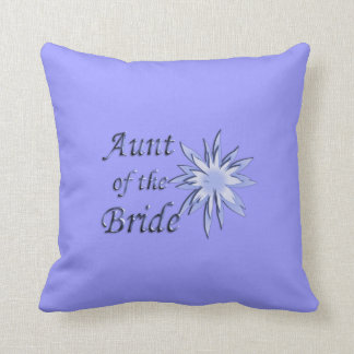 Aunt of the Bride Personalized Mojo Pillow
