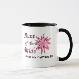 Aunt of the Bride Pink Mug