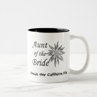 Aunt of the Bride Two-Tone Coffee Mug