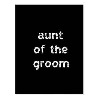 Aunt of the Groom Postcard