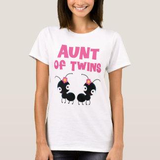 Aunt of Twin Girls T-Shirt
