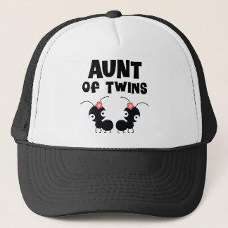 Aunt of Twin Girls Trucker Hat
