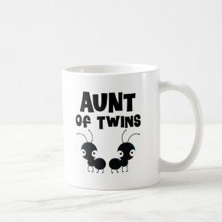 Aunt of Twins Boys Classic White Coffee Mug