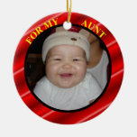 Aunt Photo Gift Tag & Ornament