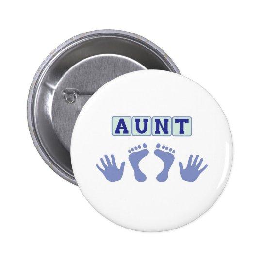 Aunt Pinback Button