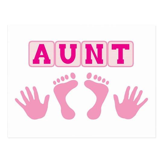Aunt Postcard