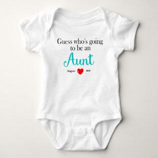 Aunt Pregnancy Announcement Personalized Tshirts