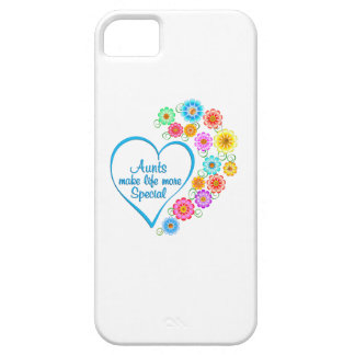 Aunt Special Heart iPhone SE/5/5s Case