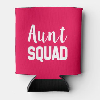 Aunt Squad funny can cooler