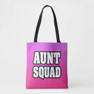 Aunt Squad women's auntie tote bag