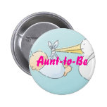 Aunt-to-Be Pinback Button