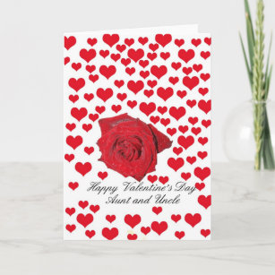 Happy Valentines Day Aunt Uncle Gifts On Zazzle