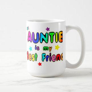 Auntie Best Friend Classic White Coffee Mug