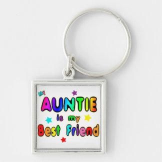 Auntie Best Friend Keychain