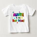 Auntie Best Friend Tee Shirt
