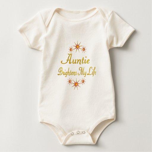 Auntie Brightens My Life Bodysuits