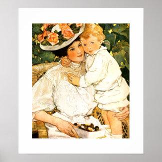 """""""Auntie""""  by Jessie Willcox Smith Poster"""