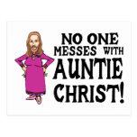 Auntie Christ Postcard